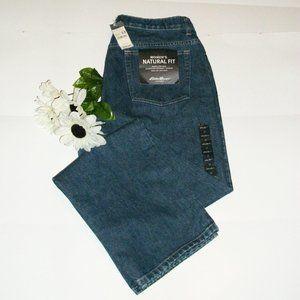 EDDIE BAUER 12 Straight Leg Jeans Natural Fit NWT